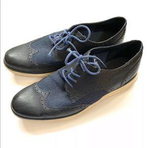 Cole Haan zero grand oxford wingtip sneakers